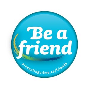 Be A Friend Button