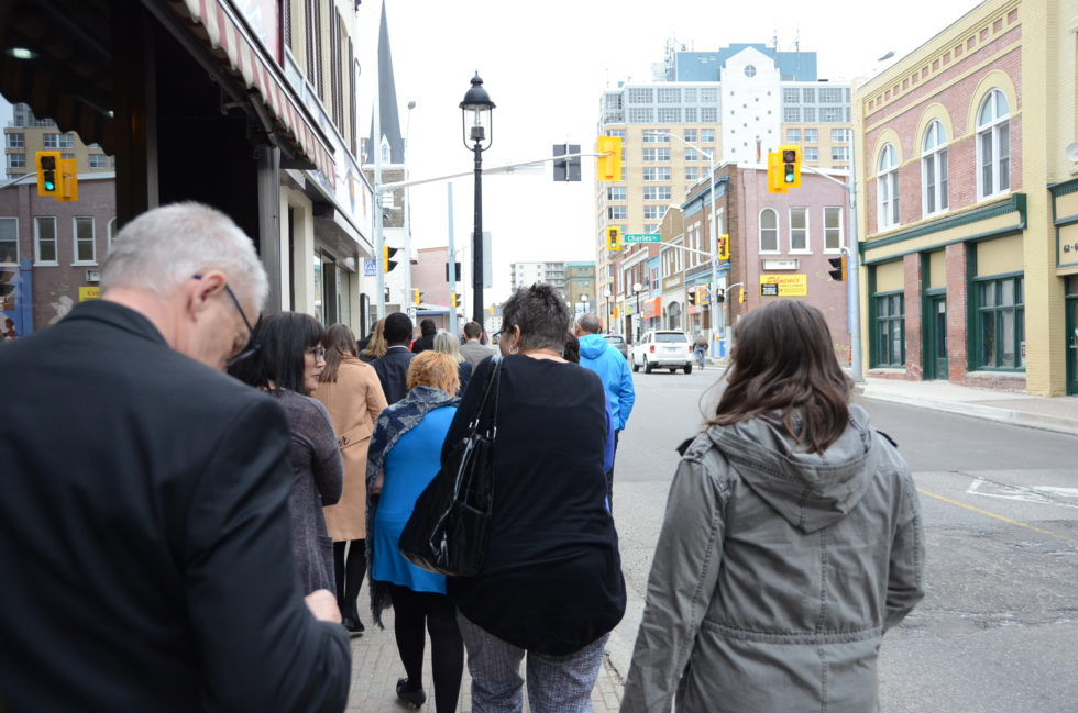 Tour of the Working Centre & Queen Street. downtown Kitchener